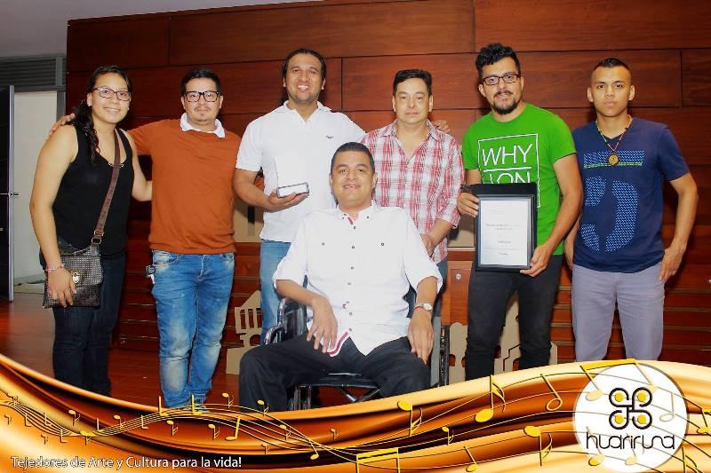 """La propuesta """"Tejedores de Arte y Cultura para la Vida"""", presentada por el grupo de Huari Runa ocupó el primer puesto. Foto cortesía Huari Runa para www.todosesupo.com"""